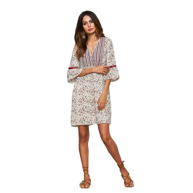 Женская новая вешенная / летняя одежда этническая снежная юбка