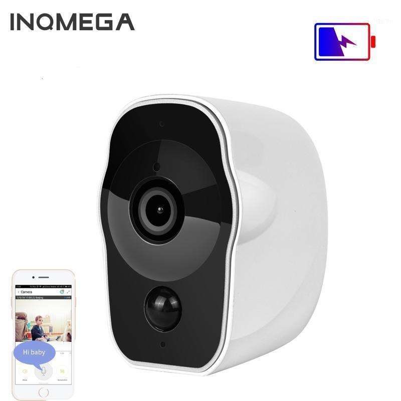 Câmeras Inqmega Bateria Sem Fio IP Câmera IP WiFi 1080p Indoor Home Vigilância Segurança CCTV Recarregável IR Registro Audio1