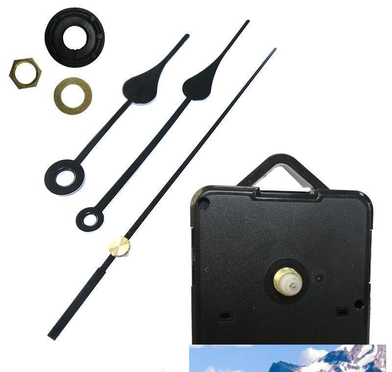 Mécanisme de bricolage DIY DIY Quartz Horloge Mouvement Mécanisme Mécanisme Réparation avec des ensembles de main Horloge de mouvement de point de point SQCOJMO PPSHOP01