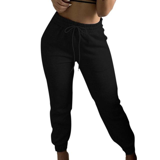 Pantaloni da donna Capris Spring Matita a matita in pizzo in pizzo Casual solido multi-tasca di grandi dimensioni tuta taglia sottile