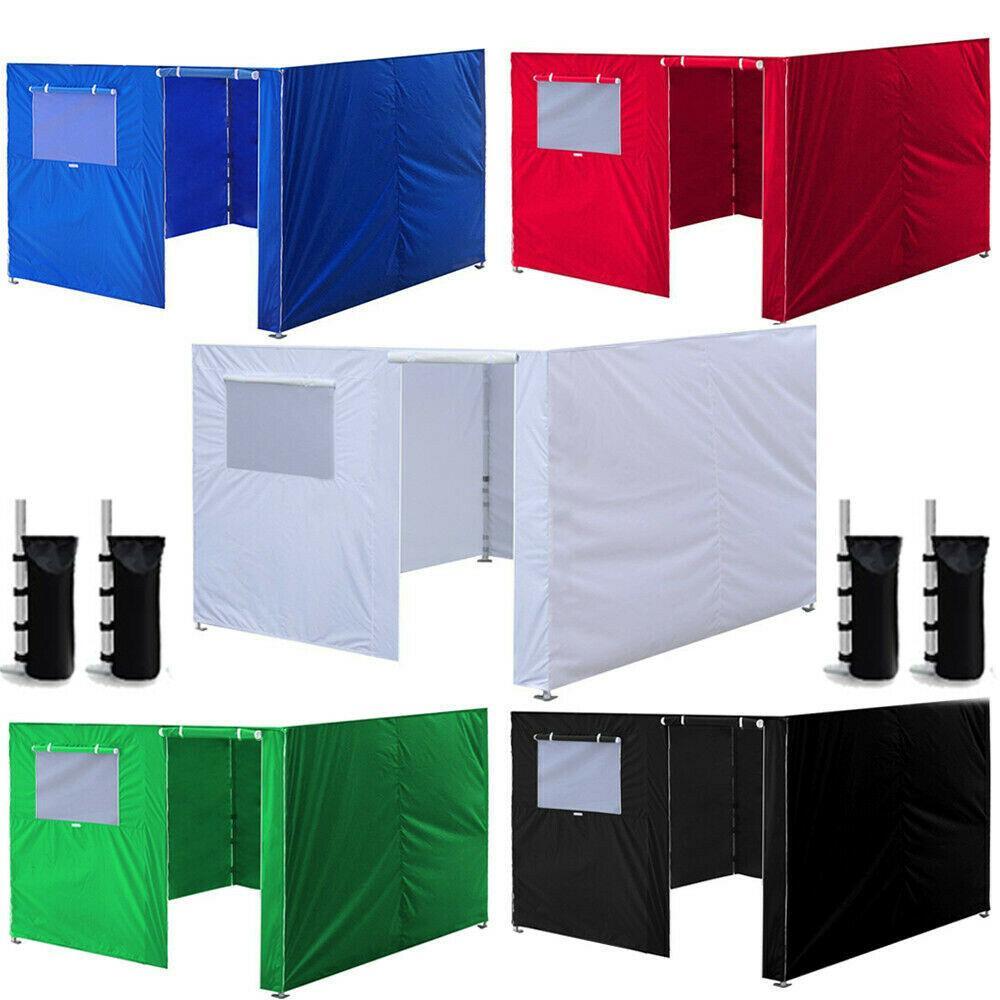 3x3m ez up tenda de dossel oxford pano festa de tenda lados de parede impermeável pátio jardim pátio ao ar livre dossel comercial Instant Instant gazebos Z1123