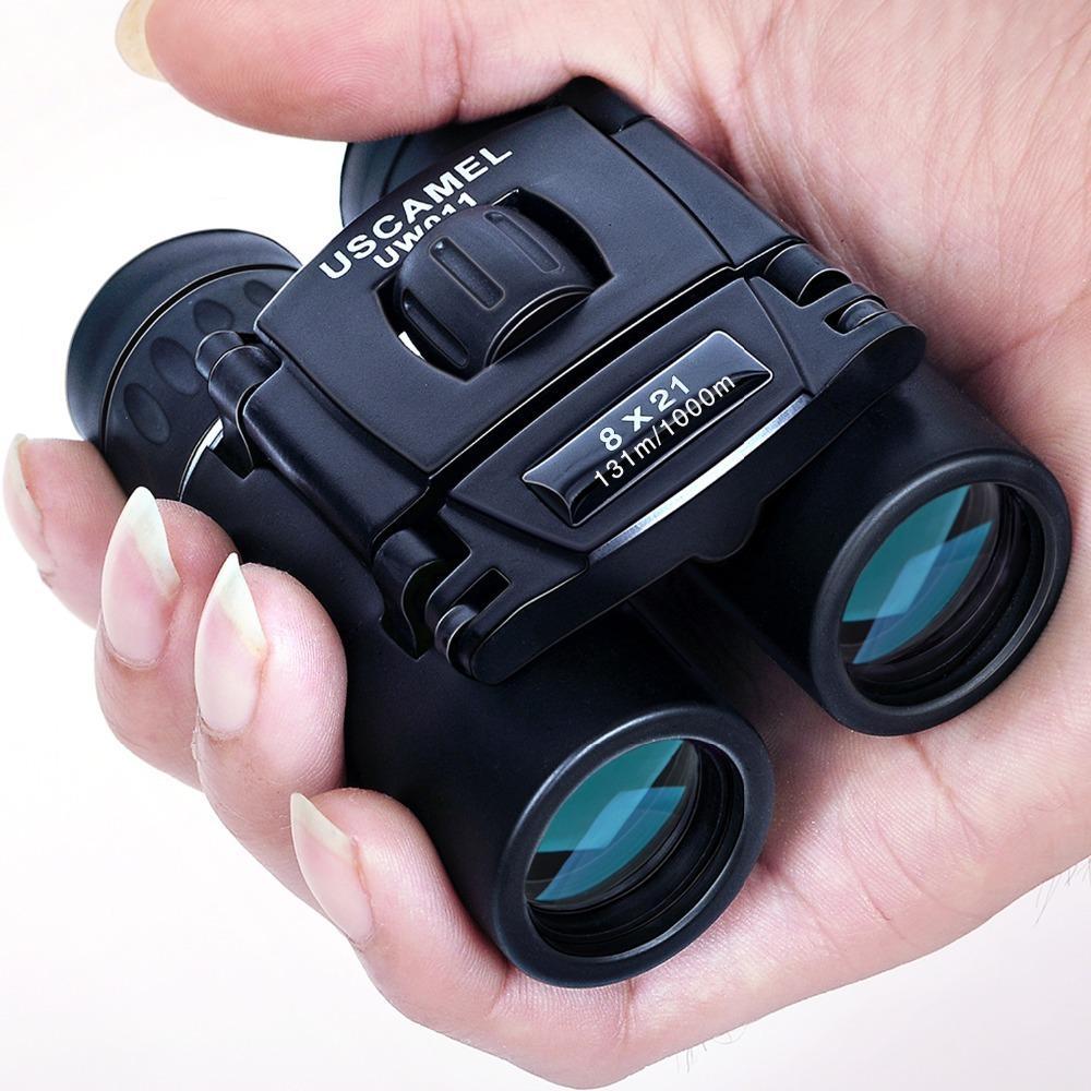 Wolface 8x21 HD бинокль дети Детский Длинный Диапазон Складной Мини Телескоп Оптика для спорта Открытый Кемпинг Путешествие 2020 Новый