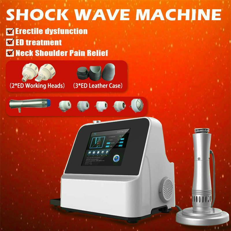 Popular body pain removal shockwave machine 2020 zimmer shockwave erectile dysfunction beauty equipment for beauty center
