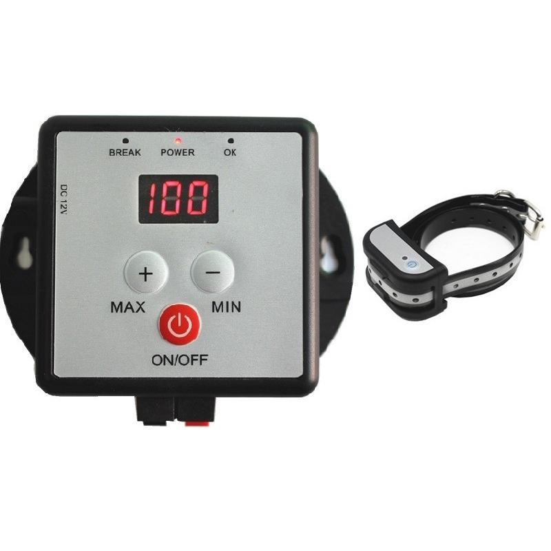 Cerca de estimação Cerca elétrica Recarregável à prova d 'água ajustável de treinamento de treinamento eletrônico sistema de contenção de esgrima