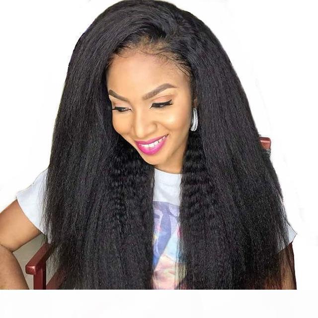 13x6 peluca delantera de encaje peruano virgen rizado recto 100 cabello humano para mujeres negras pre arrolladas 13x6 pelucas frontales de encaje
