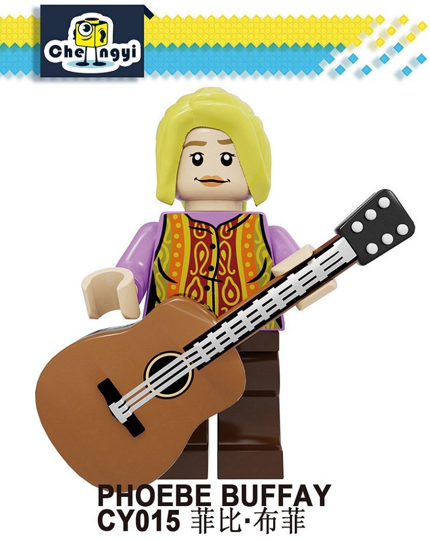 Blocs de construction d'amis jouet Rachel Green Monica Geller Chandler Bing Figurines Bricks Jouets pour enfants Jouet