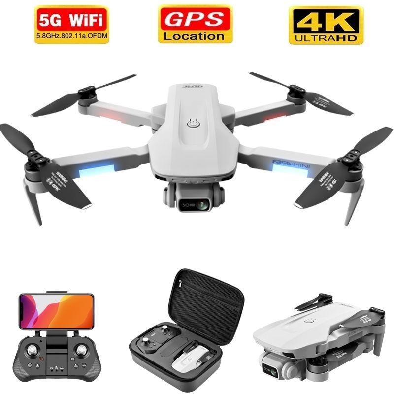 F8 GPS Drone 5G HD 4K Camera Professional 2000M Image Передача бесщеточный мотор складной Quadcopter RC Dron подарок 201210