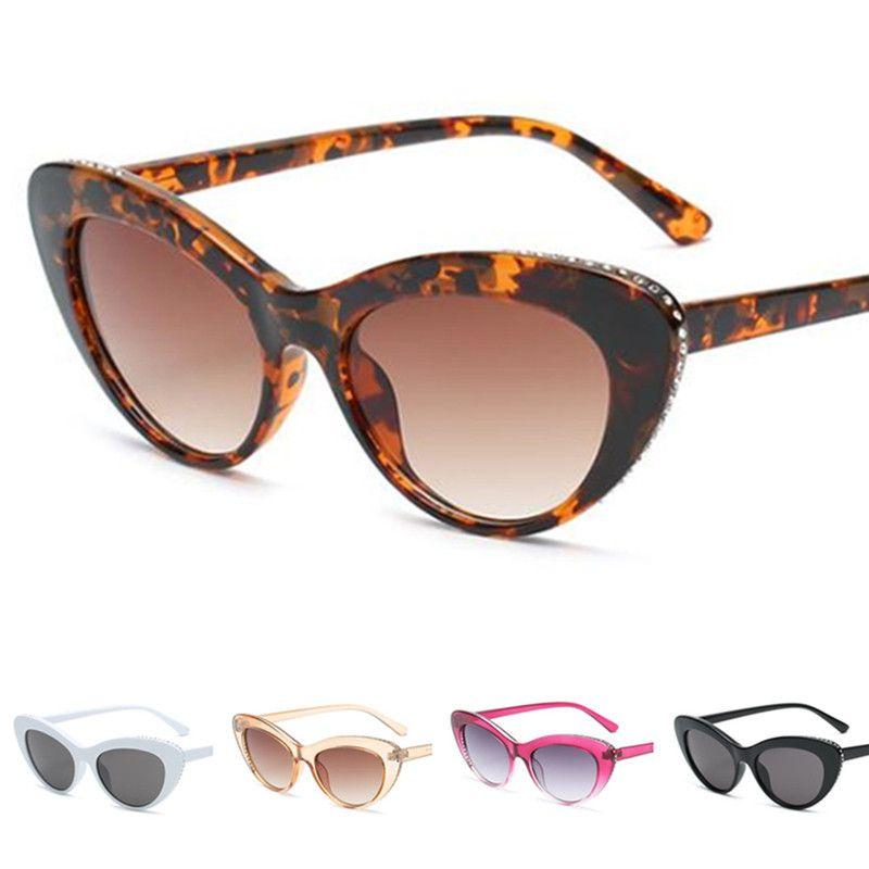 Pequeñas gafas de sol Gafas de sol Sun Glasse Eye Ojo Gafas Gafas Anti-UV Espectáculos Gato Ornamental A ++ Frame Fashion Ekrix