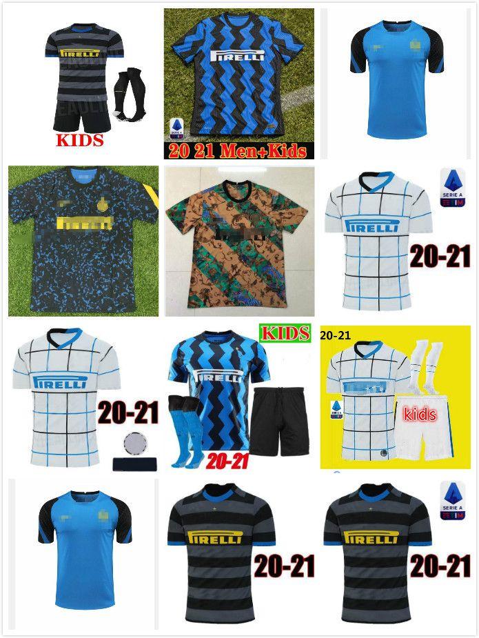 2019 2020 2021 Lukaku Alexis Lautaro Eriksen Soccer Jerseys 19 20 21 Godin Sensi Accueil 3ème Hommes Femme Football Shirts
