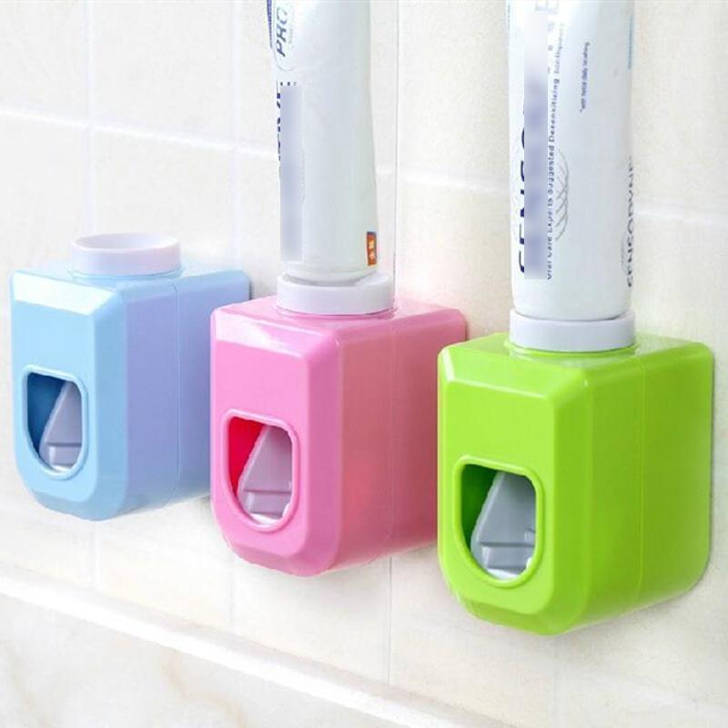 Distributore automatico Dentifricio Dentifricio Dentifricio Dentifricio Dentifricio Squeezers a parete Tipo ACCESSORI BAGNO Set1