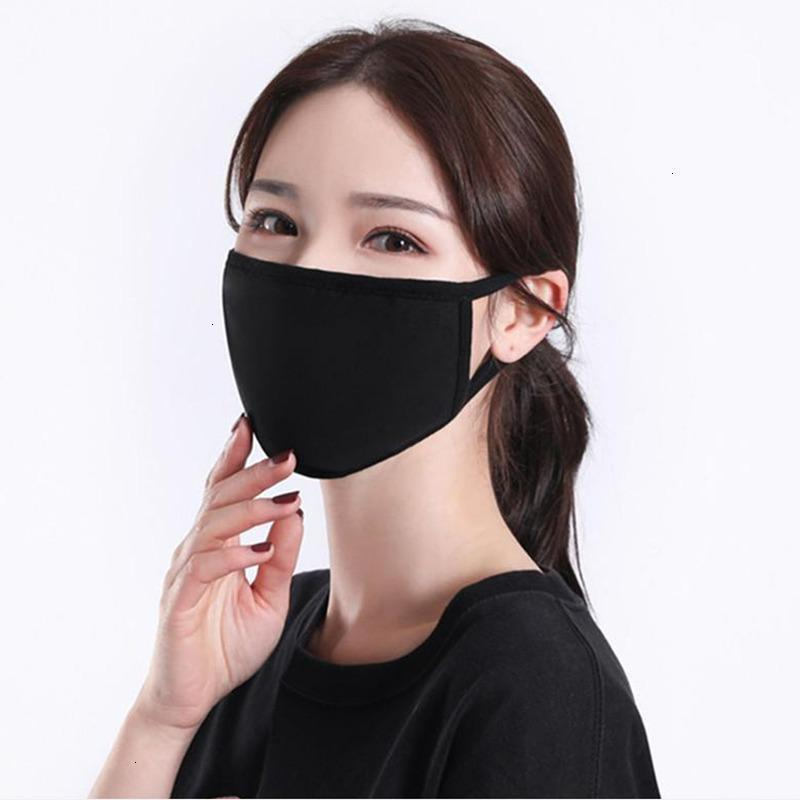Tissu lavable respirant adulte coton visage masque de protection classique masque anti-poussière réutilisable YYA94 QUSNG