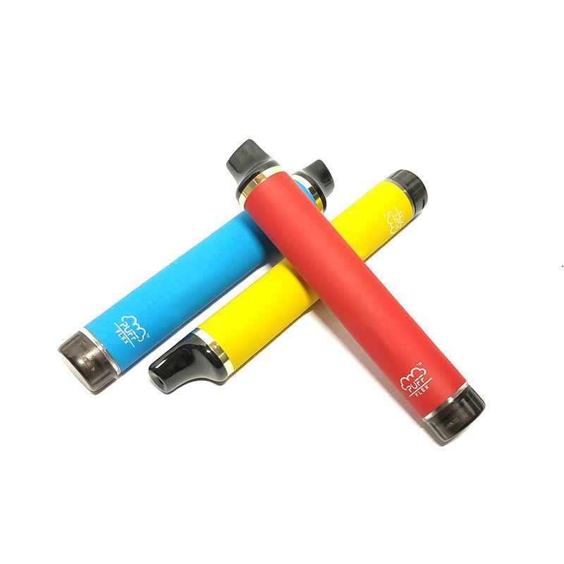 Puff Flex Stäbe 2800 Puffs vorbelegt 5% Einweg-Schoten Gerät vape Kits 1500mAh Batterie leer XS Fluss XXL Plus-Bars