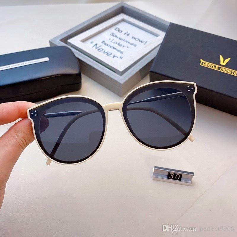 Designer Designer Delicato mostro Occhiali da sole Discolorazione Fashion Luxury Jack Gentle Monster Occhiali da sole UV400 Top Quality