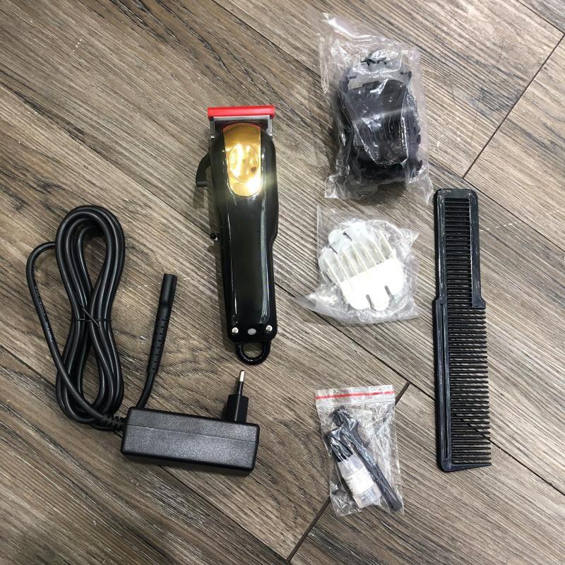 8148 Magic Metal Hair Clipper électrique Razor Hommes Steel Head Tête de rasoir Tondeuse Gold Red UE / US / UK Plug