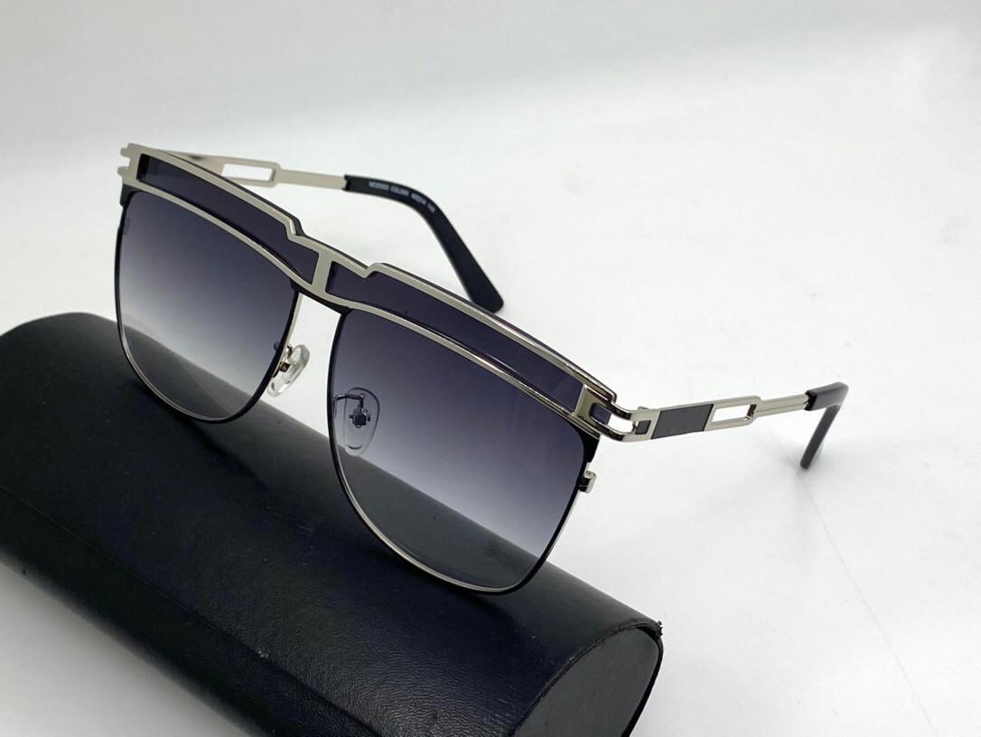 Mod003 Yeni Moda Erkekler Ve Kadınlar Güneş Gözlüğü Göz Koruma Anti-Ultraviyole Unisex Metal Tam Çerçeve Ücretsiz Kutusu Ile Üst Parça