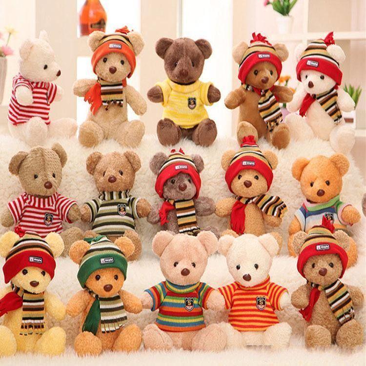 30 cm llegando lindo oso de peluche peluche peluche oso peluche peluche peluche toys regalos para niños adultos día de San Valentín regalos de Navidad