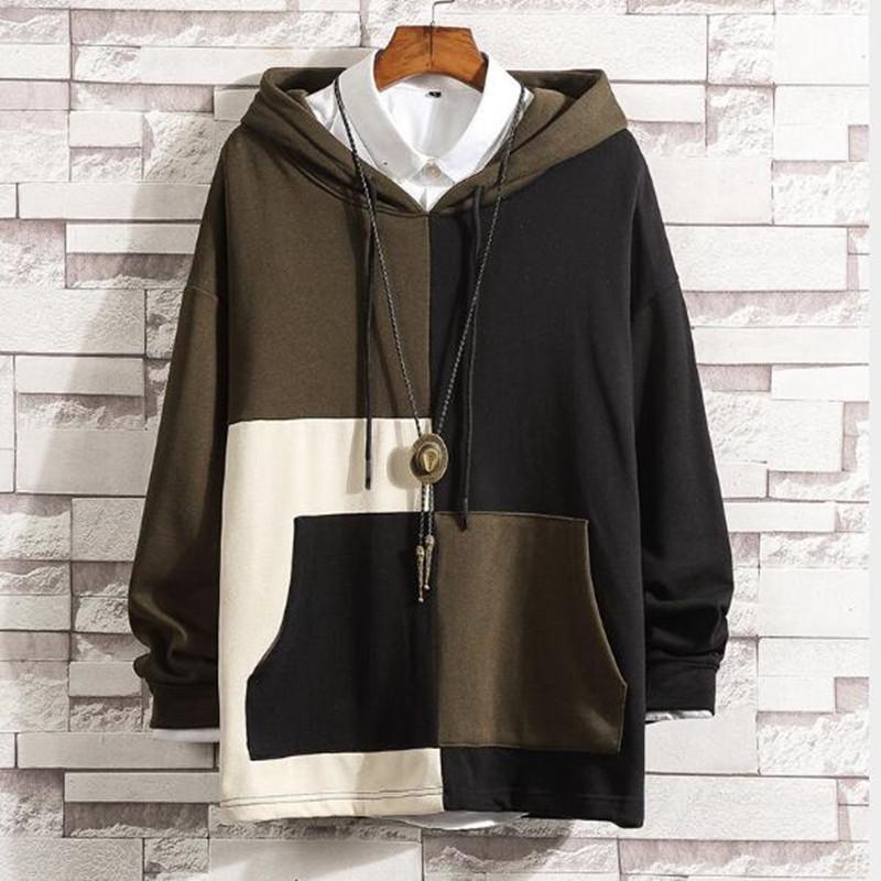 2021 Nouveaux Sweats Sweats Streetwear Casual Capuche Coton Plus Taille 4XL 5XL QE8P