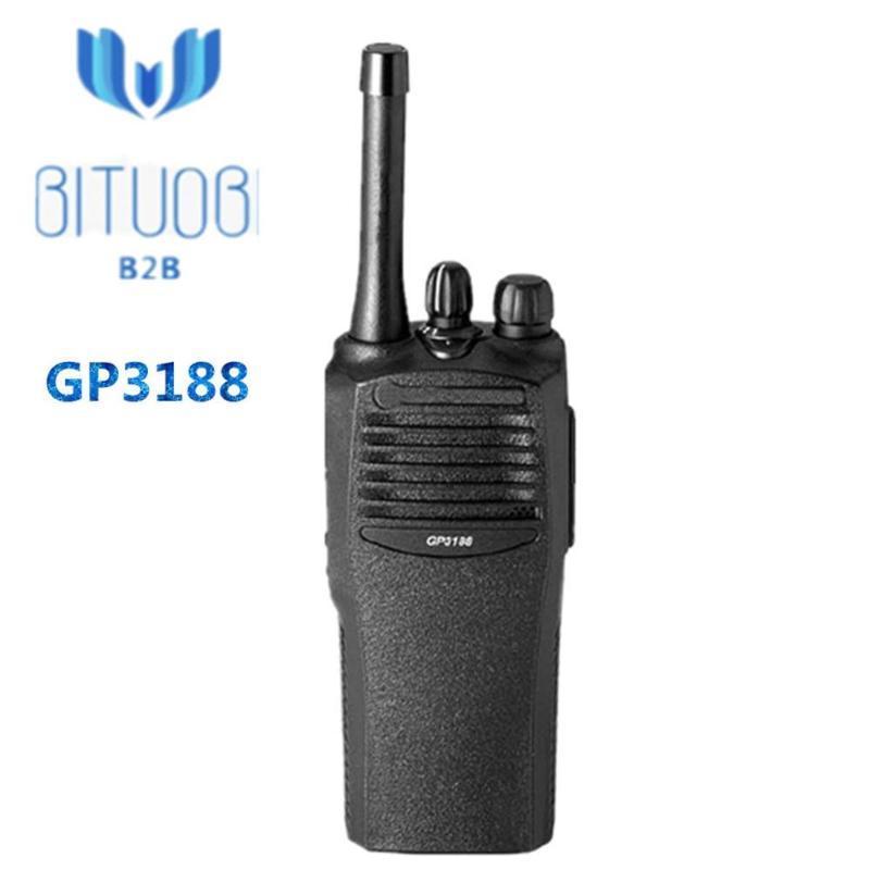 워키 토키 GP3188 VHF UHF Betriebsfunk 아날로그 라디오 146-174MHz 403-438MHz 438-470MHz 465-495MHz 내구성 있고 신뢰할 수있는