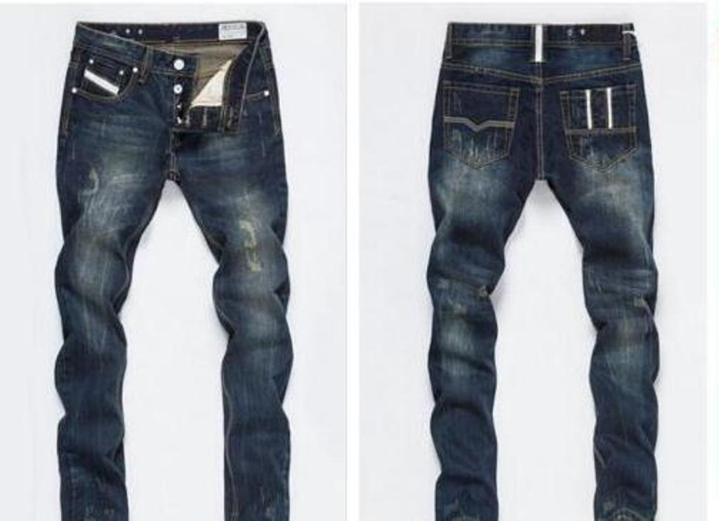 Moda Tasarımcısı Erkek Yırtık Biker Jeans Deri Patchwork Slim Fit Moto Denim Joggers Erkek Sıkıntılı Kot Pantolon Için