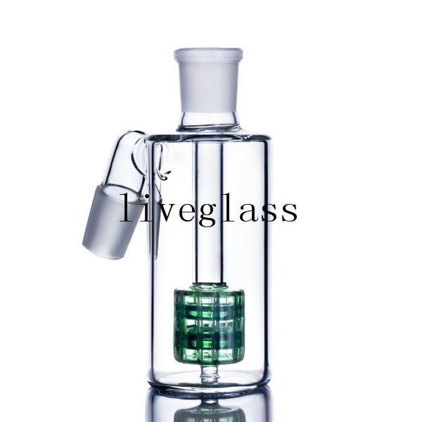 Colorful Arm Tree Glass ash catcher recycler adapter perc ashcatcher 14mm 18mm Male Female percolator Bowl Smoking Accessories For Tobacoo