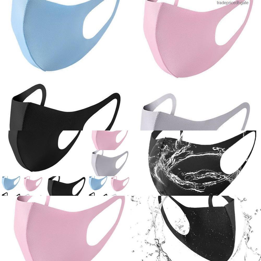 Bocca di ghiaccio PM2.5 Anti Cover Mask Polvere viso respiratore antipolvere anti-batterico lavabile REU 72ZD ZK1C