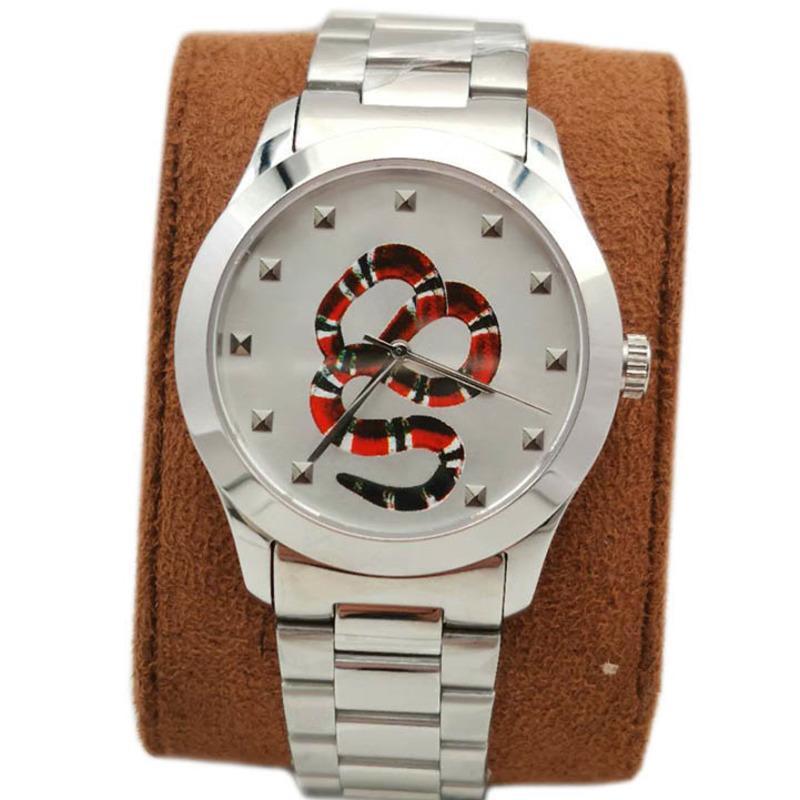 새로운 스타일 패션 커플 시계 38mm 28mm 망 여성 시계 스테인레스 스틸 스트랩 쿼츠 시계 Montre de Luxe Wristwatches Box