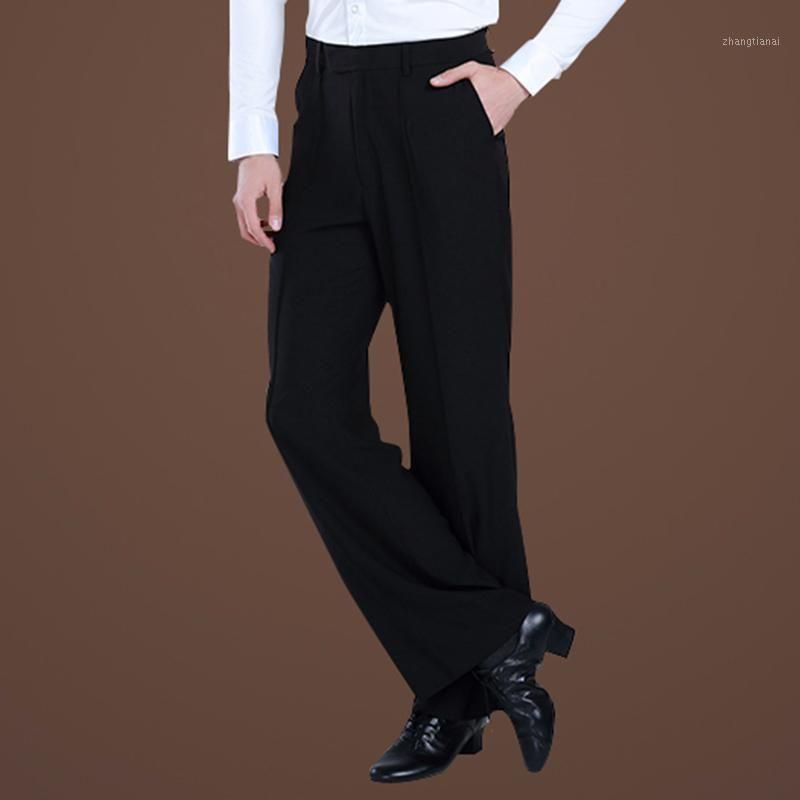 Мужские танцевальные брюки Профессиональные мужские Латинские танцевальные брюки Samba Salsa Tango Cha Cha Современные бальные работы COSTUMES1