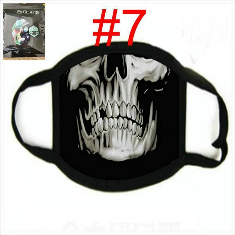 Máscaras Scarf Facial Esporte Skull Face Bandana Esqui Headband Projeto Motocicleta Motocicleta Máscara Motociclista Multi Função Pescoço Gaiter Bbyalq