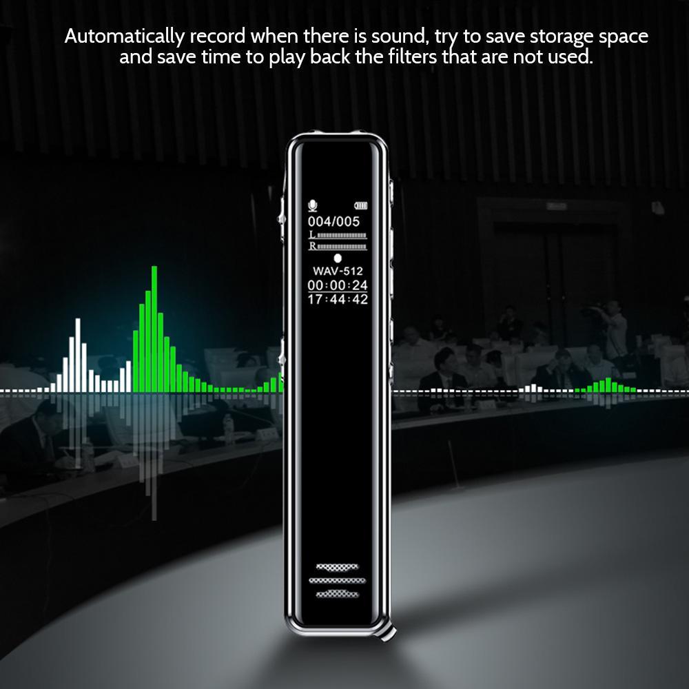 Q22 تسجيل القلم تخفيض الضوضاء اجتماع العمل طالب مخصص طويل الاحتياطية سعة كبيرة تسجيل خارجي القلم