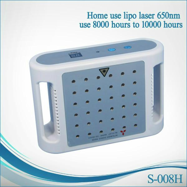 Mini lipolaser japão diodo lipo laser 650nm wevalength lipolaser lipolaser perda de peso corporal máquina de emagrecimento para uso doméstico