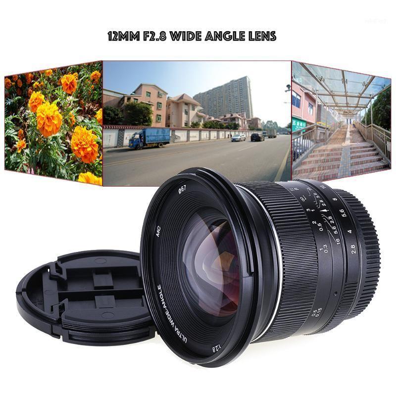12 мм F / 2.8 широкоугольный ручной фиксированной линзы для Canon EF-M EOOSM / M3 / M5 / M10 беззеркальная камера1