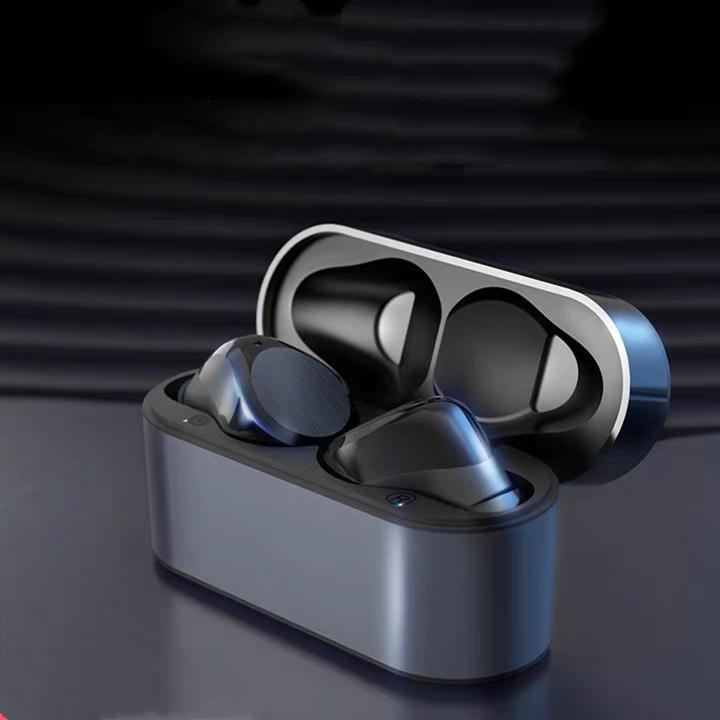 TWS Renomear GPS Fones de ouvido Chip Metal Dobradiça Sem fio Bluetooth Fones de ouvido Bluetooth Fones de ouvido