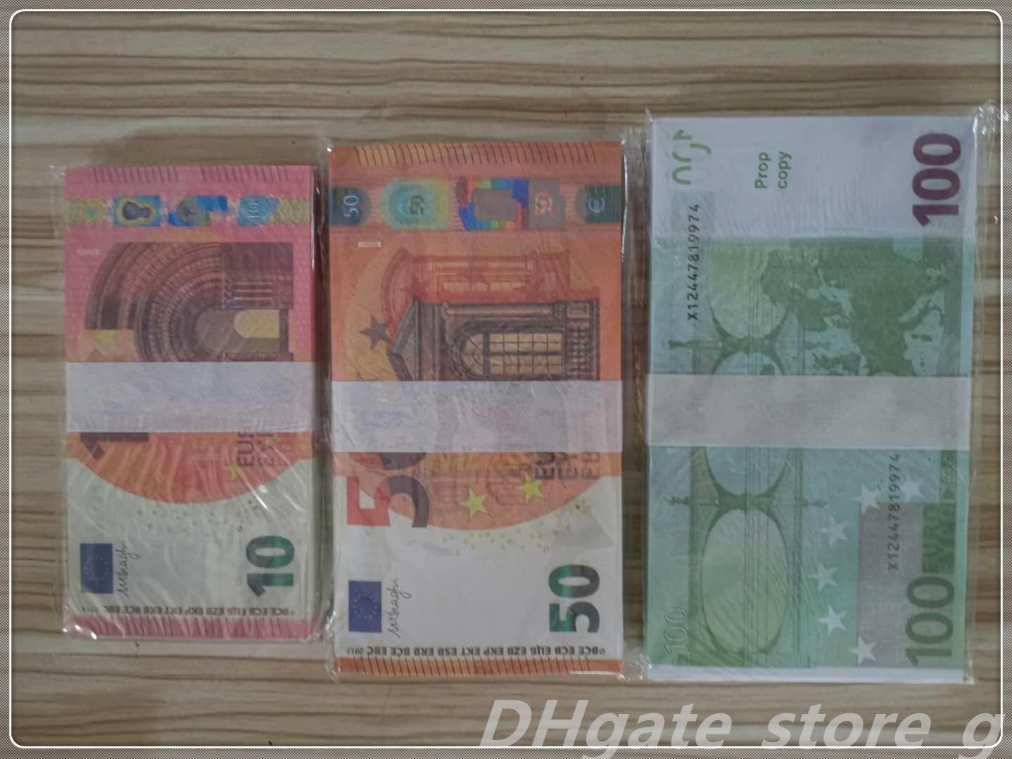 Billet en gros de l'argent argent lb-104 Quality TOP ProP Fake Film NightClub Livre Monnaie Monnaie Euro Bar Faux Atmosphère CQSAA RGDVU