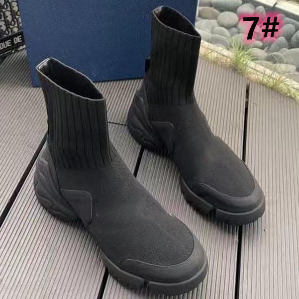 2021-New Woman Boots Designer di lusso Scarpe corte Stivaletti a maglia Elastic Boots Socksshoes Grande taglia 35-42 con scatola
