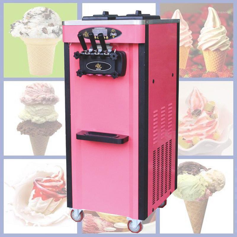 Máquina de helado de fruta 2000W COMERCIAL MÁQUINA MÁQUINA DE HELECTURA SOFTURA AUTOMÁTICO1