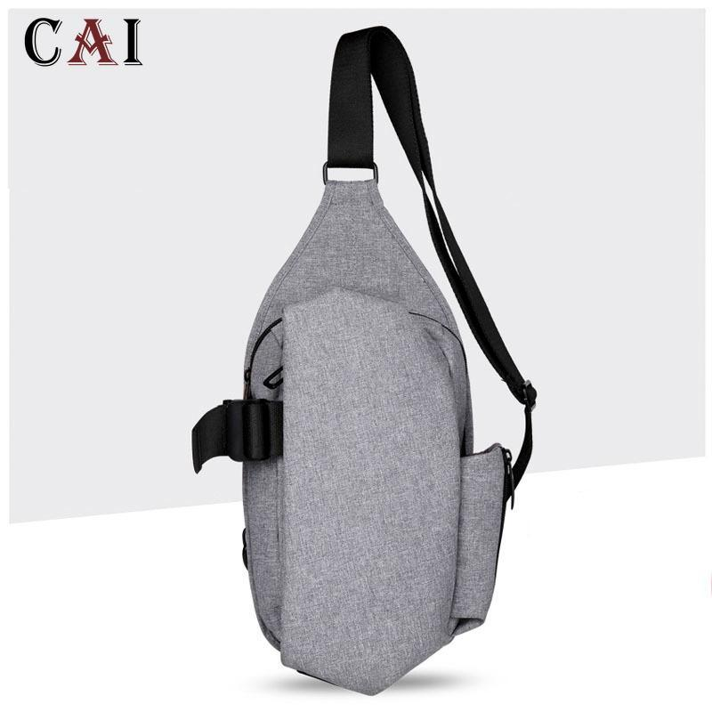 2020 Nuovo Brand Uomo Oxford Chest Pack Singola tracolla Singola Tracollata Back Back Badbody Borse Sling Business Business Borsa a tracolla Back Pack