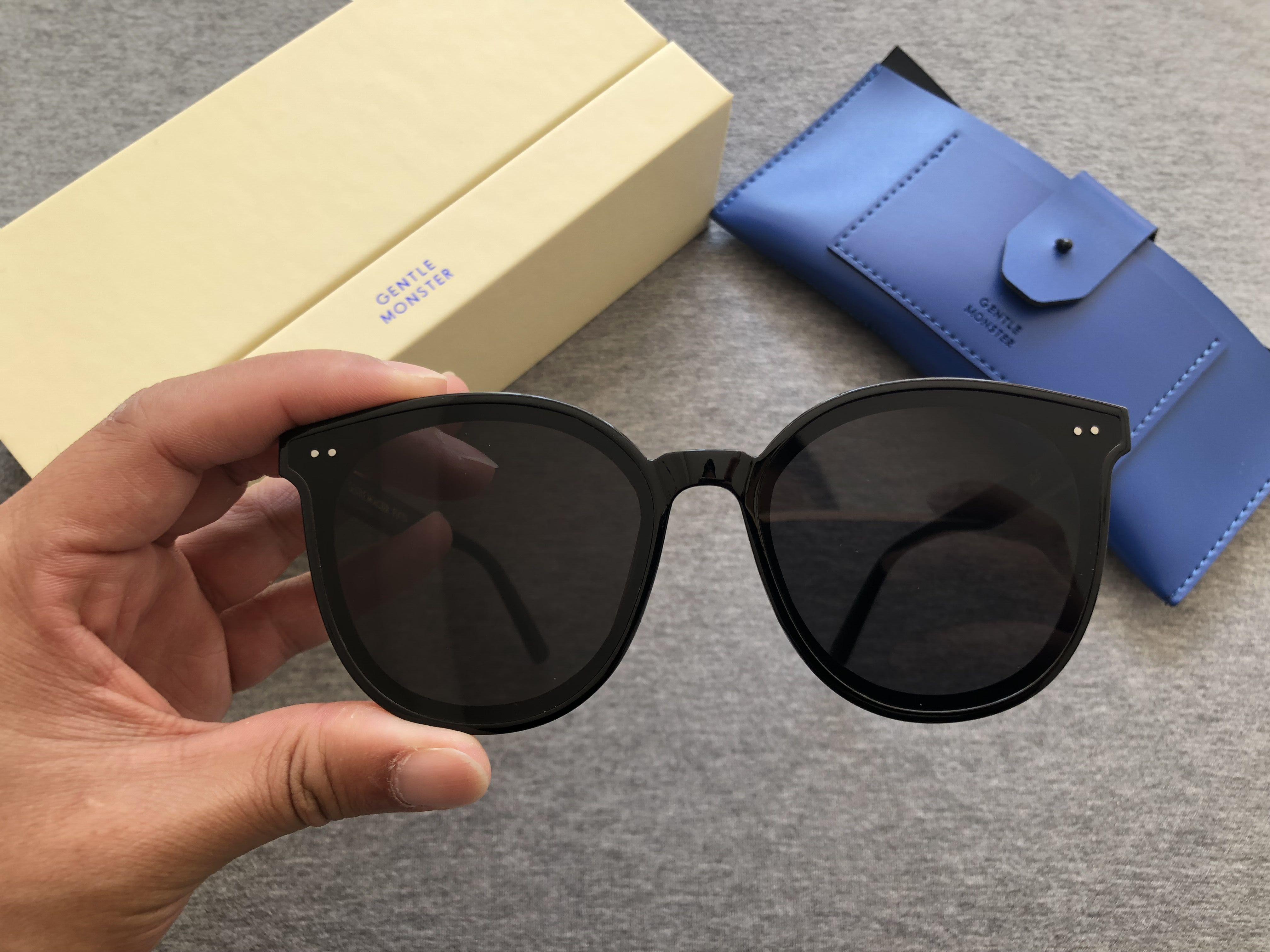 2020 Nuovo Design Design Donne Fashion Brand Designer rotondo telaio da sole Occhiali da sole UV400 GM Occhiali da sole GLI Occhiali da sole PACCHETTO ORIGINALE SOLOCOOL