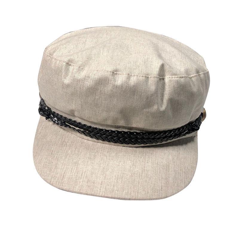 Kadın Newsboy Berels Cap Öğrenci Şapka Moda Kızlar Sekizgen Kap Bere Kore Güneş Şapkaları Kadınlar Boinas Para Mujer 2020 Moda