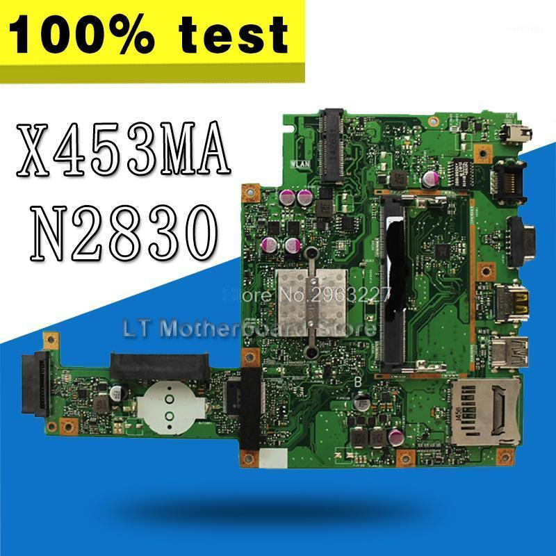 X453MA Motherboard N2830/2840 CPU 2 cores For Asus X403MA X403M F453M Laptop motherboard X453MA Mainboard1