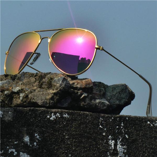 Übergroße Mode Frauen Randlose Pilot Sonnenbrille Marke 2020 Goggles Design Mincl Frauen NX Sonnenbrille Shades Männer Eyewear Vintage Ciqlj