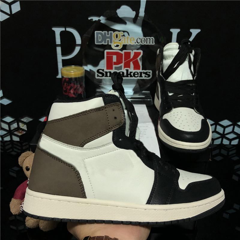 أعلى جودة الظلام mocha jumpman 1 ثانية الرجال النساء أحذية كرة السلة عشبي unc تويست الأحذية التكبير لا الخوف bio hack الرياضة أحذية رياضية في الهواء الطلق