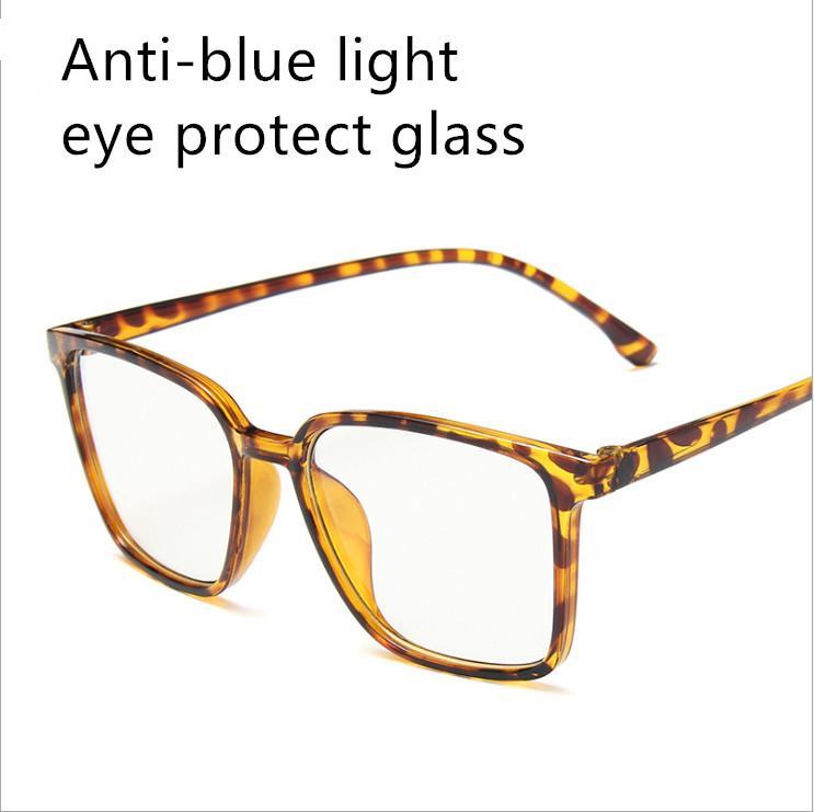 5 usine lunettes de luxe lunettes léger poids confortable anti-bleu clair verre bleu film cadres homme femme lunettes de protection lunettes