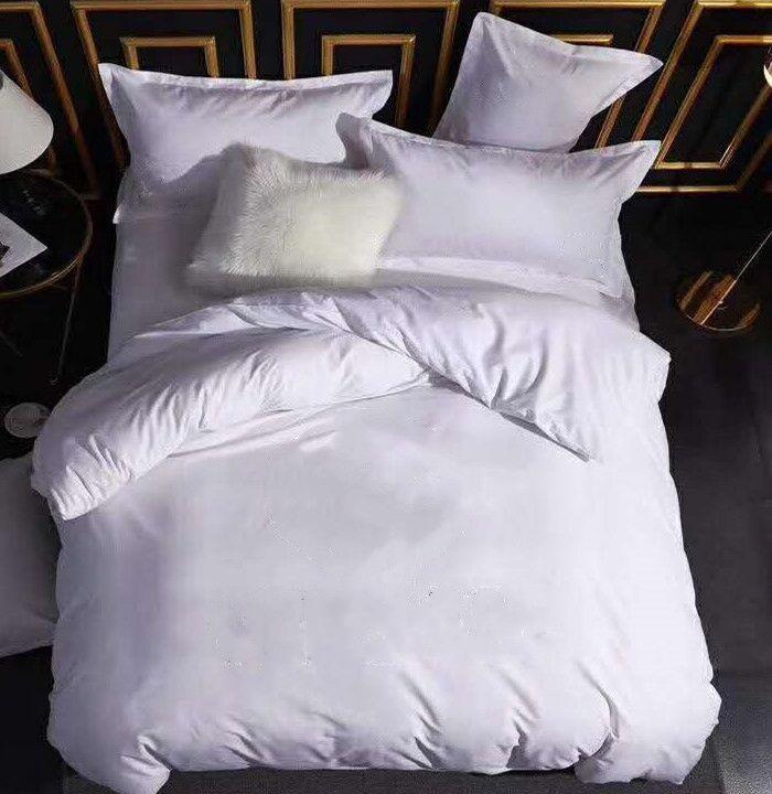 Ensembles de literie en coton Set de couverture de couette imprimée à la taille Queen, dont 2 boîtiers d'oreiller Housse de couette de couette de couette