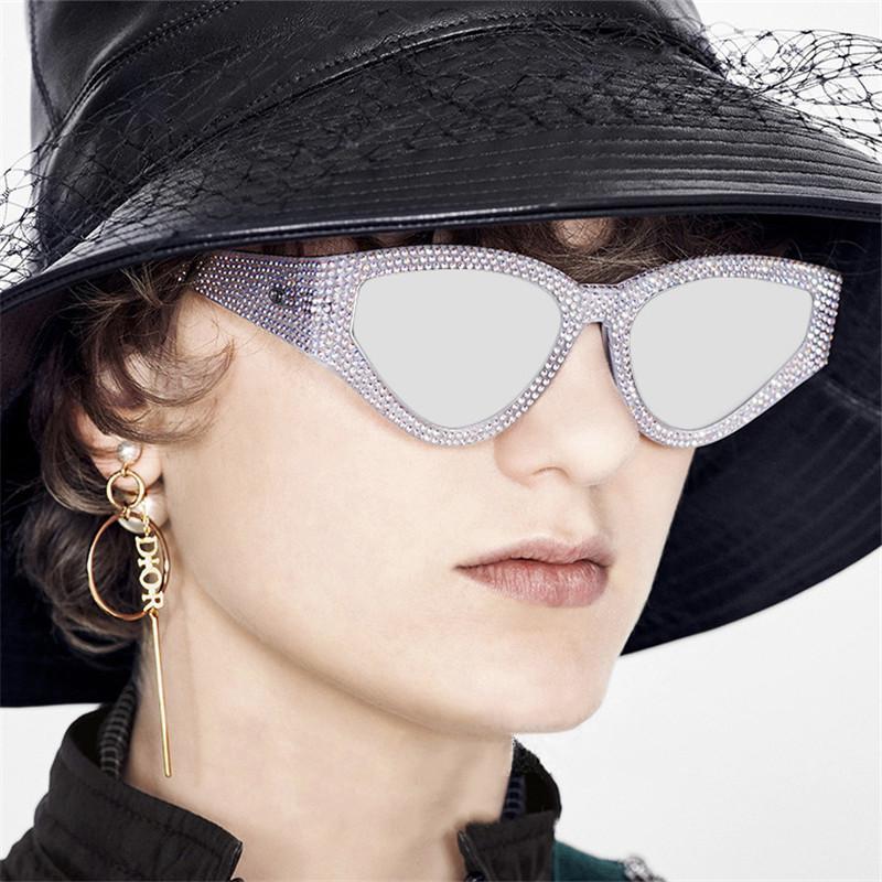 Hombre femenino gafas de sol mujeres lujo nuevo gafas sol lentes gafas oculos punk anteojos hombres hombres mujer gafas de vintage sol tedfh