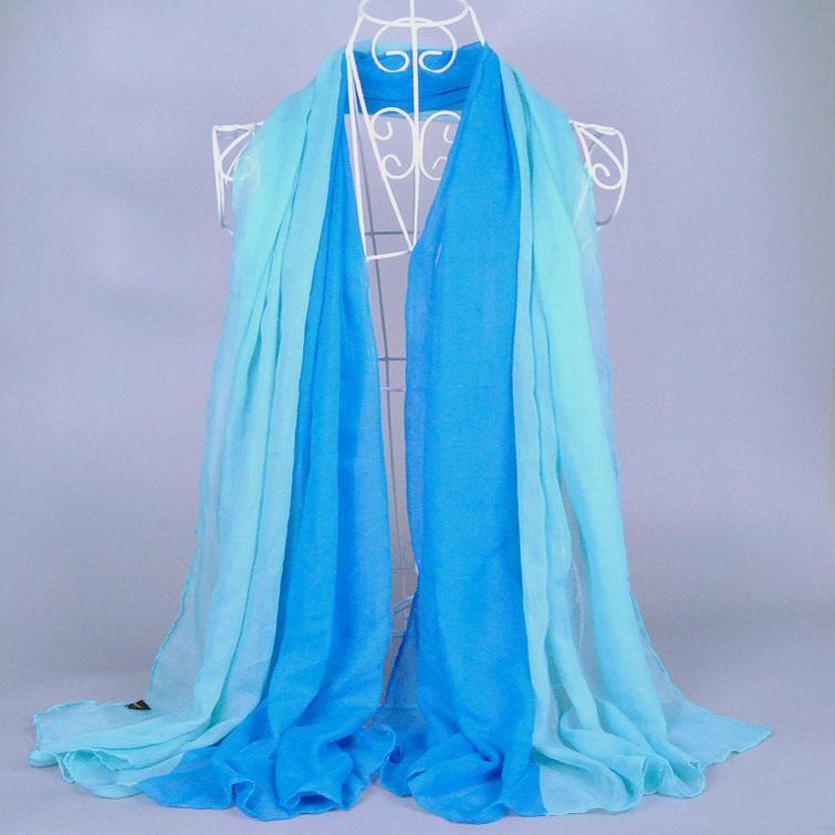 5pcs / lot coloré dames envelopper classique Foulards de haute qualité / écharpe 18Color Coton Châles de coton Muslim hijab solide