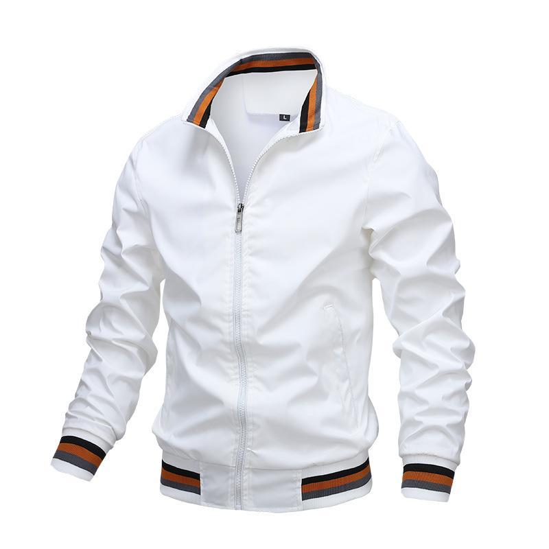 Sonbahar Erkek Moda Ceketler ve Mont Erkek Streetwear Rüzgarlık Bombacı Erkekler Casual Ordu Kargo Açık Havada Giyim