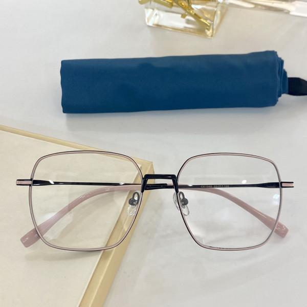 CE134 جودة عالية جديد الأزياء النظارات إطار قصير النظر الإطار العين الرجعية إطار كبير يمكن قياس وصفة عدسة مصمم نظارات مربع