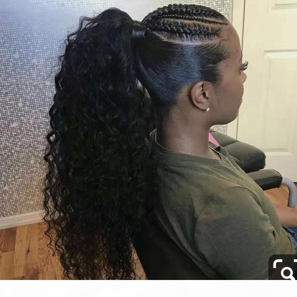100% реальный натуральный клип в человеческих хвостных волосах.