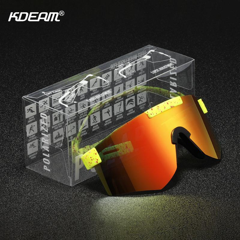 PIT Polarized 1993 Die Spezialist 2000 Sonnenbrille doppelte breite Viper Sportbrillen RTF9 DHSVH