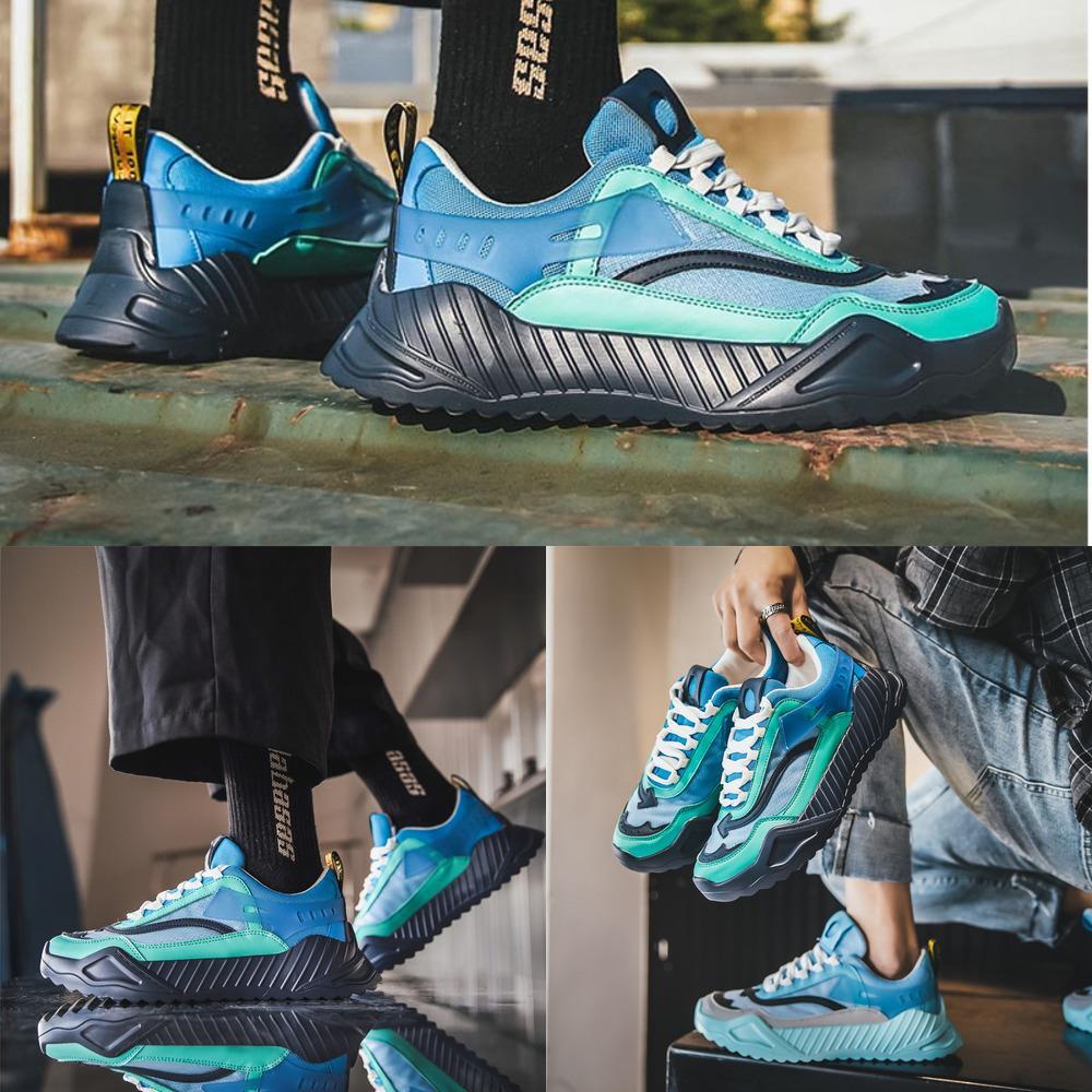 Hommes 2020 Sneakers légers Baskets d'été Paniers Homme Respirant Casual Chaussures de concepteur Femme Formateurs Taille 39-44